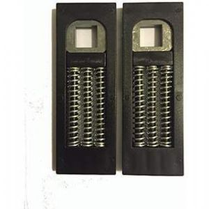 Spring Cassette Pair for uPVC Door Handles - Hole in Top